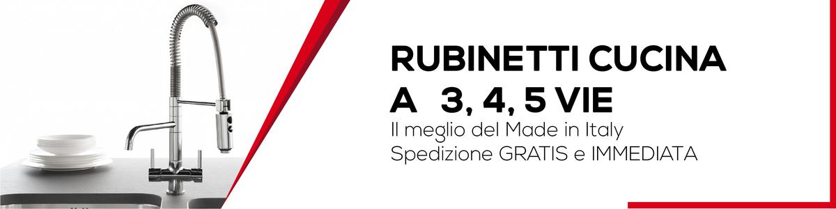 Rubinetti Cucina 3 4 E 5 Vie Bagno Italiano