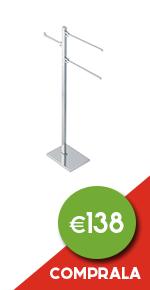 697891 150 matisse piantana con elementi mobili   2 porta salviette e porta rotolo