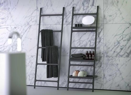 Portasciugamani Bagno Design : Xjmcq europeo nero pugno libero spazio portasciugamani in