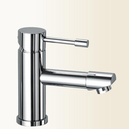 Grillo miscelatore per lavabo senza scarico finitura cromo - Bagno senza scarico ...