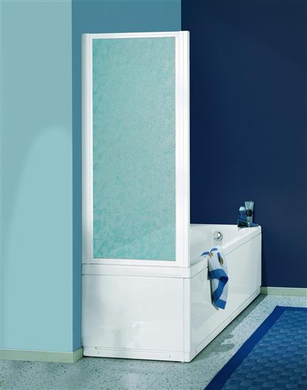 Paradise parete vasca fissa bianco pannelli polystyrene 76 80 bagno italiano - Pannelli vasca da bagno ...