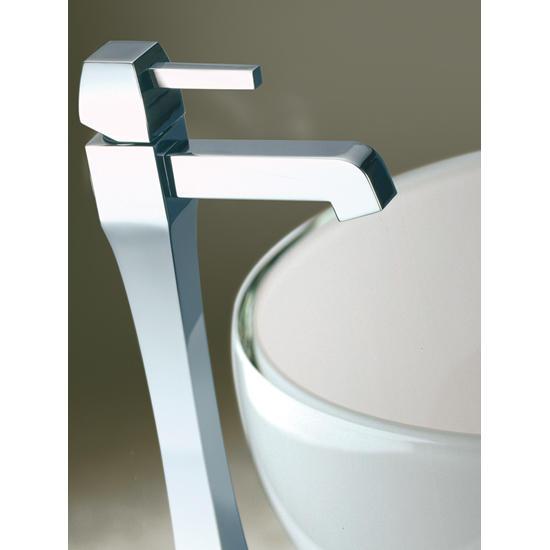 CHARLOTTE miscelatore monocomando lavabo alto senza scarico finitura ...
