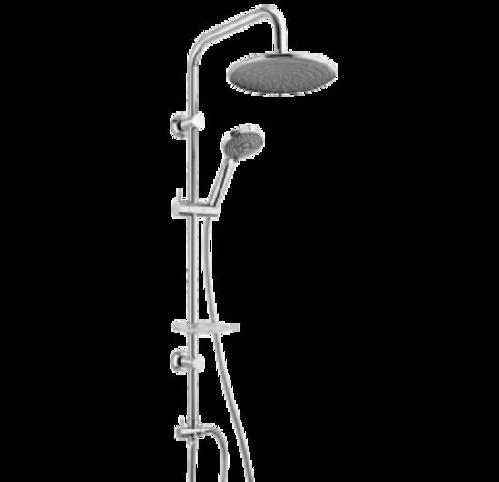 Saliscendi Doccia Con Deviatore.Paini Shower Line Colonna Doccia Con Deviatore E Flessibile Di Collegamento Bagno Italiano