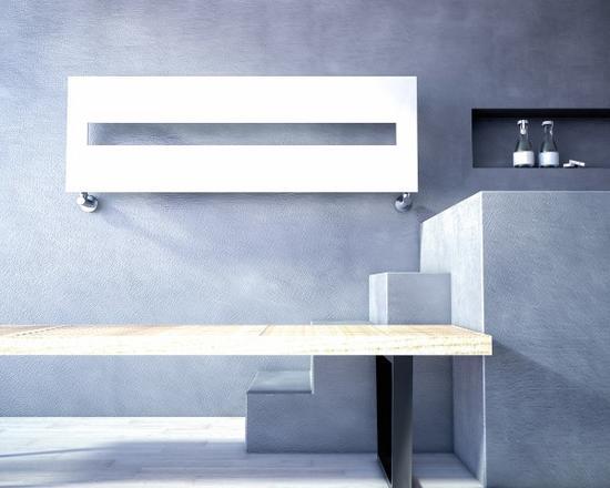 Sugar o scaldasalviette in acciaio h 430 x l 1230 finitura bianco ral9016l bagno italiano - Prezzo termoarredo bagno ...