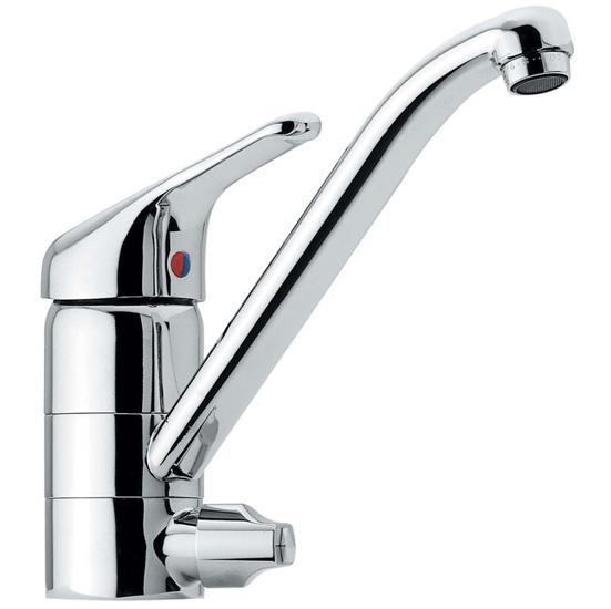 60 rubinetto miscelatore lavello con attacco lavastoviglie bagno italiano - Cambiare rubinetto bagno ...