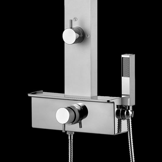 Gemma q2 plus pannello doccia miscelatore termostatico bagno italiano - Bagno termostatico ...
