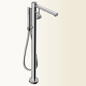 Simply miscelatore monocomando per vasca da terra bagno italiano - Miscelatore vasca da bagno ...