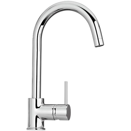 COX 78.572 rubinetto monocomando lavello monoforo bocca orientabile - Bagno Italiano