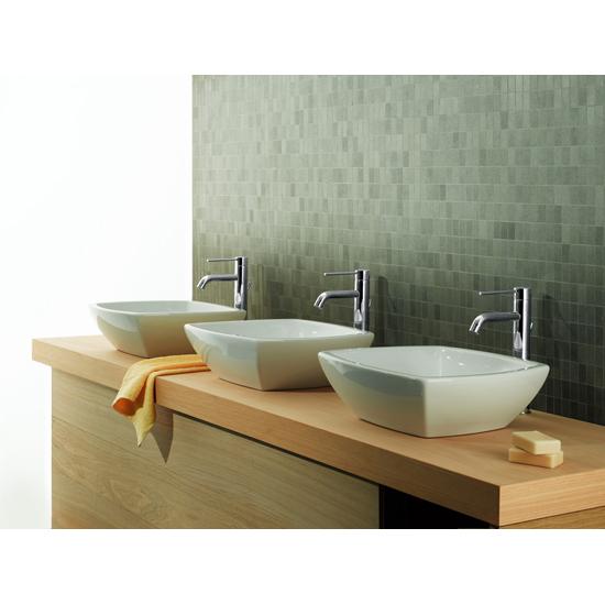 Cox rubinetto monocomando lavabo tipo alto 1 1 4 finitura cromo bagno italiano - Rubinetto bagno alto ...