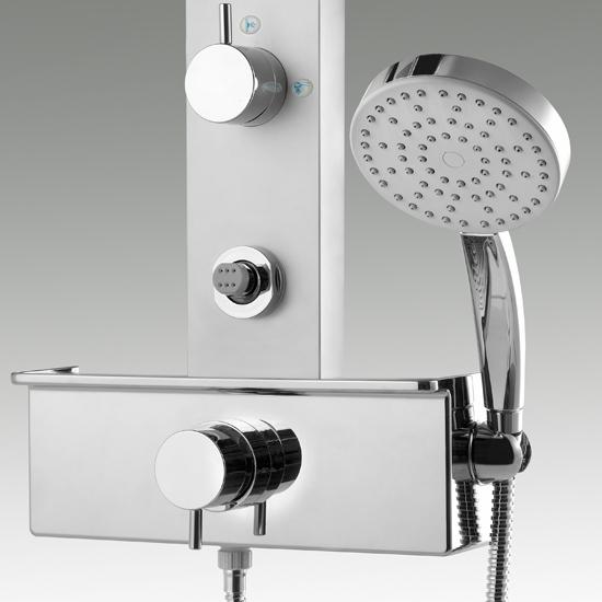 HYDRA pannello doccia miscelatore monocomando - Bagno Italiano