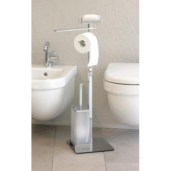 Skema piantana quattro funzioni portasapone bagno italiano - Piantane da bagno ...