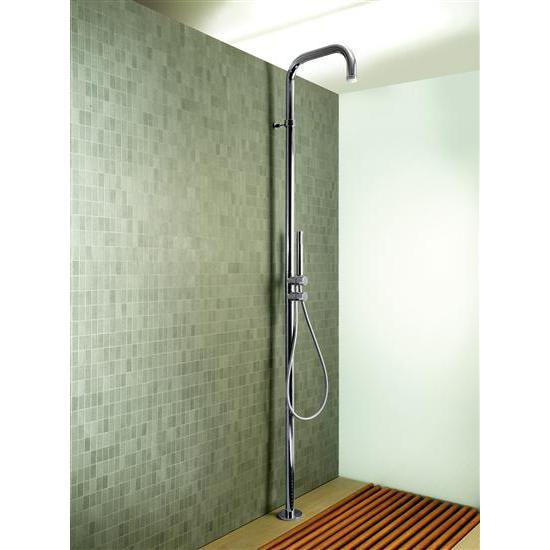 Colonne Da Doccia Bagno.Paini Shower Power Colonna Doccia A Pavimento Finitura Cromo Bagno