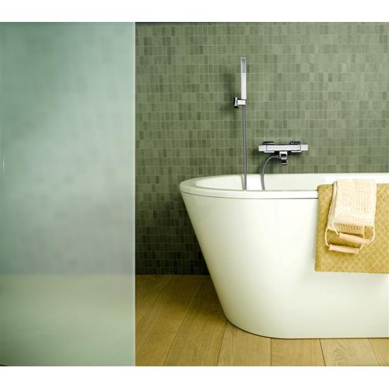 Dax rubinetto termostatico vasca esterno con duplex finitura cromo bagno italiano - Bagno termostatico ...
