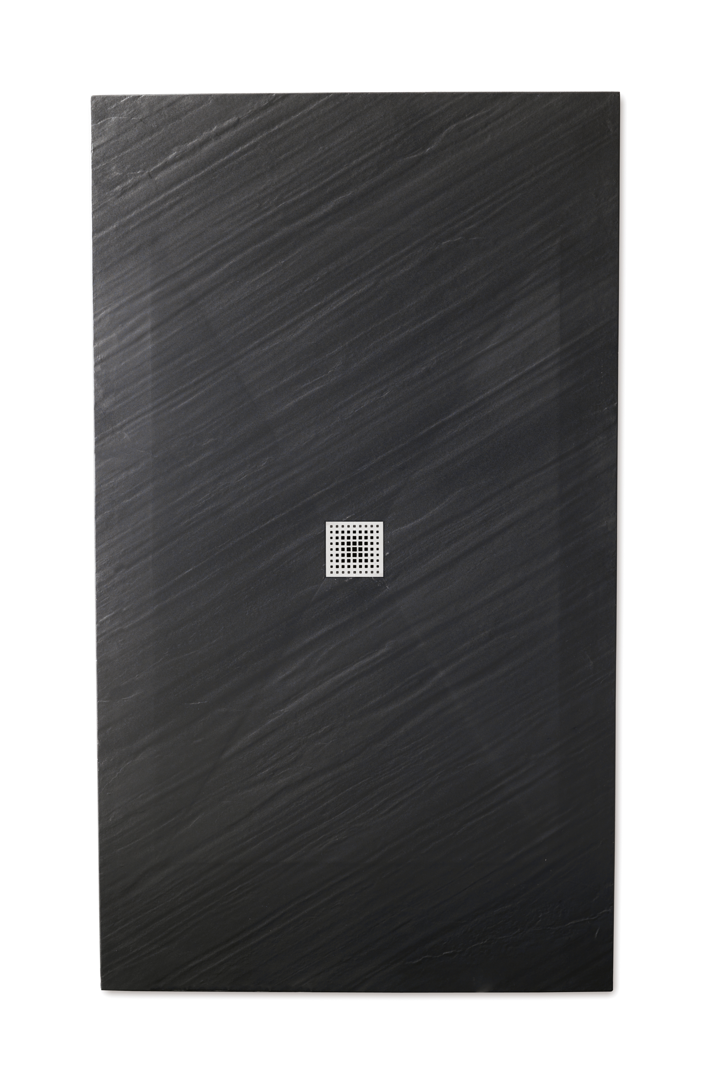 Piana piatto doccia ultra flat 3 cm in mineralstone 70x90 finitura nero bagno italiano - Piatto doccia nero ...