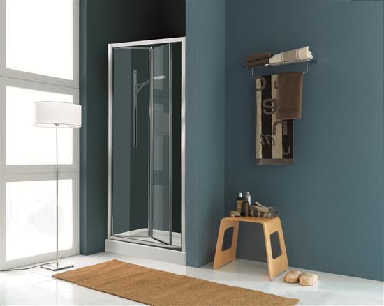 Paradise porta doccia a soffietto cromo vetro - Porta doccia soffietto ...