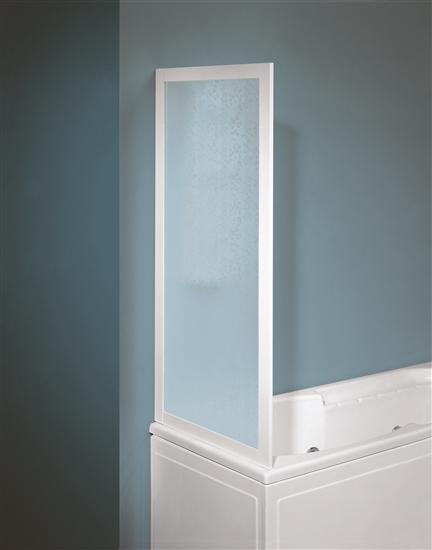GRAND CAYMAN parete vasca fissa, bianco, pannelli polystyrene, 68-72 ...