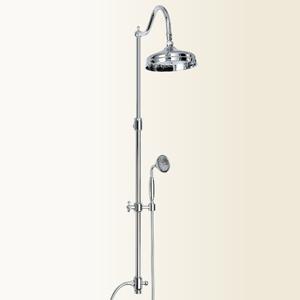 Wellness colonna doccia in ottone retro 39 orientabile - Rubinetteria retro bagno ...