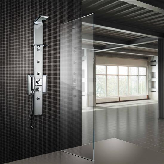 FIVEN pannello doccia termostatico 140 - Bagno Italiano