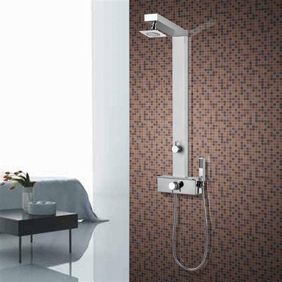 GEMMA Q2 PLUS pannello doccia miscelatore termostatico - Bagno Italiano
