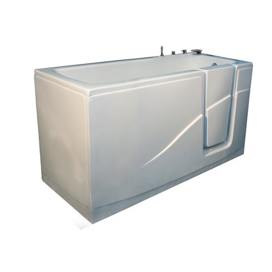Opla 39 vasca da bagno con porta bagno italiano - Porta vasca da bagno ...