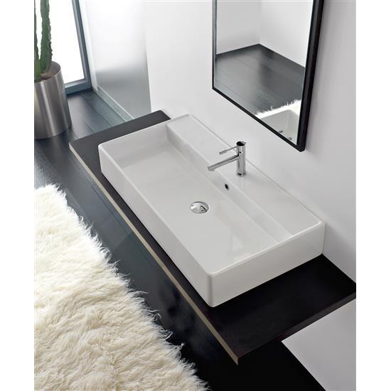 Teorema lavabo da appoggio o sospeso bagno italiano - Lavabo bagno sospeso offerta ...