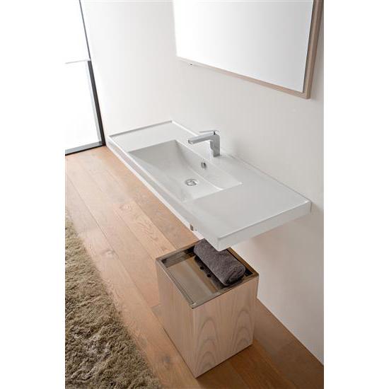 Ml 120x47 lavabo da incasso o sospeso bagno italiano - Lavabo bagno da incasso ...