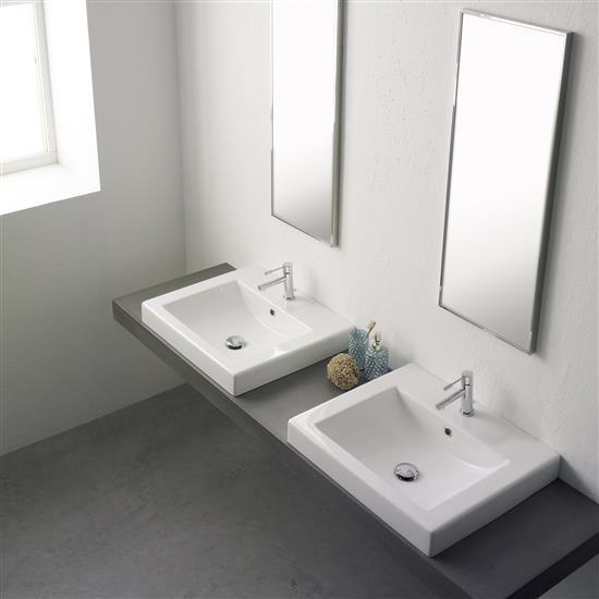 Square 60a lavabo da incasso bagno italiano - Lavabo bagno da incasso ...