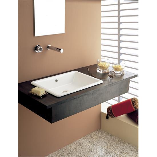 Gaia 50 lavabo da incasso bagno italiano - Lavabo da incasso bagno ...