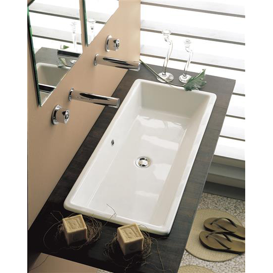 Gaia 80 lavabo da incasso bagno italiano - Lavabo da incasso bagno ...