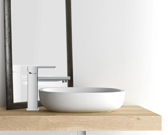 H2q miscelatore monocomando lavabo senza scarico finitura - Bagno senza scarico ...