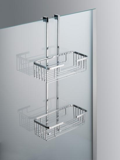 Portasapone doccia mensole doccia bagno italiano - Mensole bagno senza forare ...
