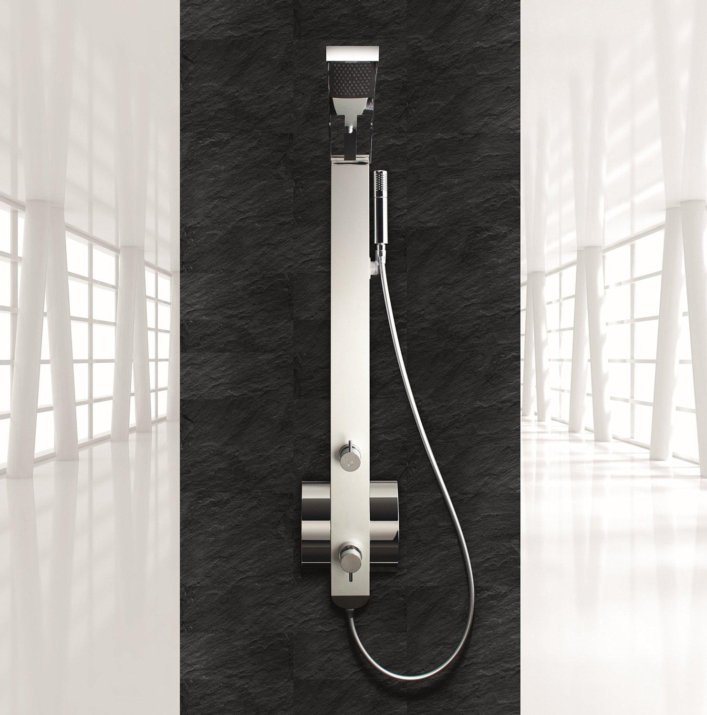 Miscelatore Termostatico Per Doccia Bagno.Idea Pannello Doccia Con Miscelatore Termostatico Bagno Italiano