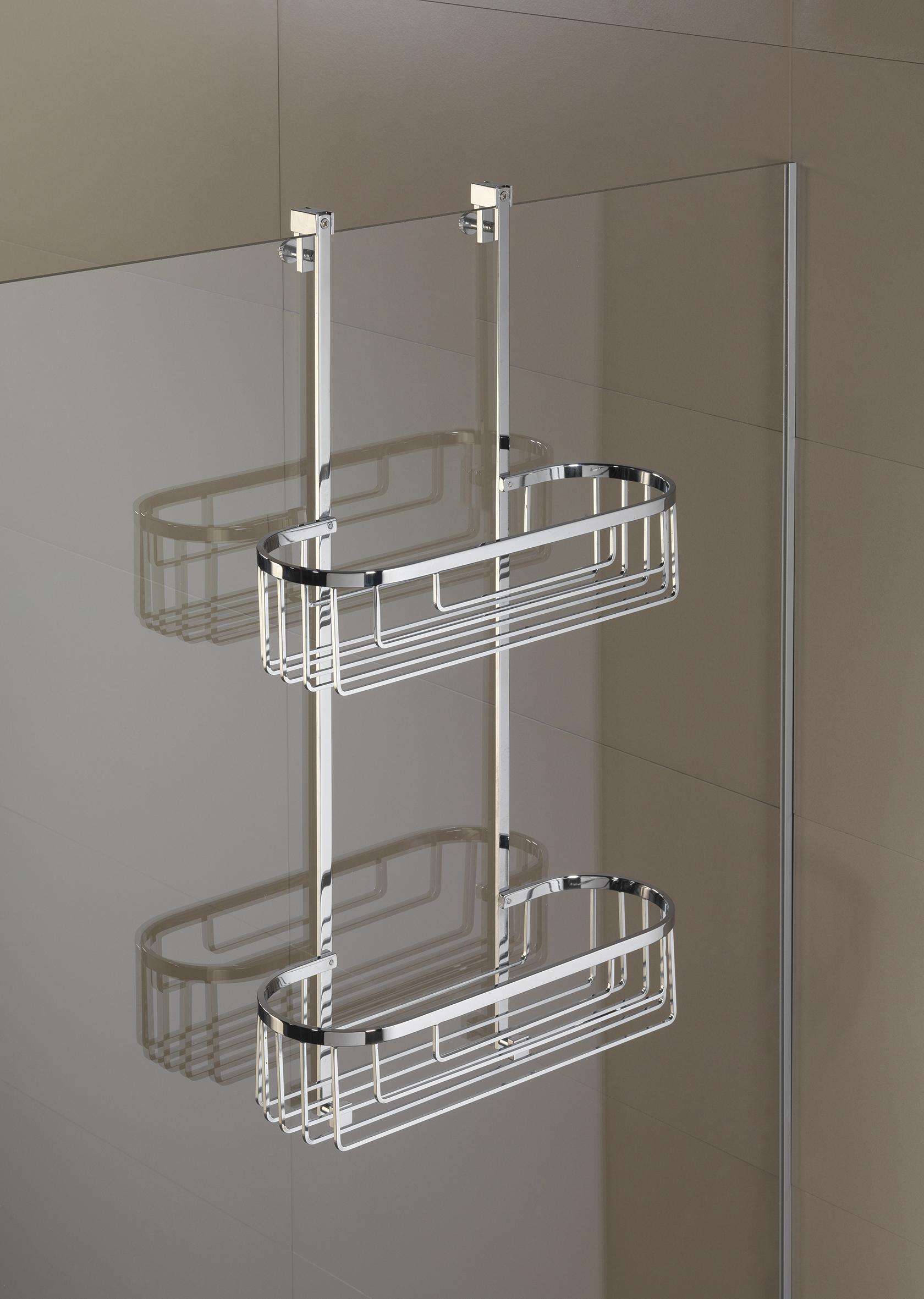Portasapone doccia mensole doccia bagno italiano for Mensole per doccia ikea