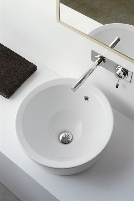 Matty tondo a lavabo da incasso bagno italiano - Lavabo bagno da incasso ...