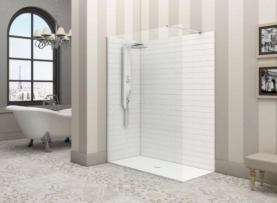 Pareti Per Doccia In Acrilico : Pareti fisse per doccia bagno italiano