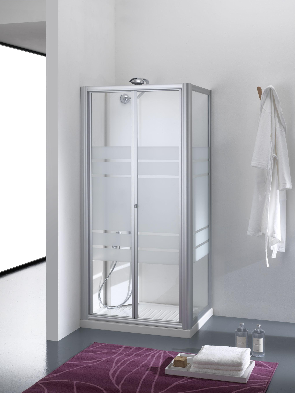 Boreas porta a soffietto finitura bianco 70 cm trasparente - Porta doccia soffietto ...