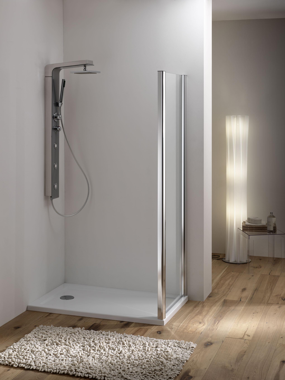 Wako door porta 1 anta scorrevole 1 anta fissa finitura - Porta scorrevole bagno ...