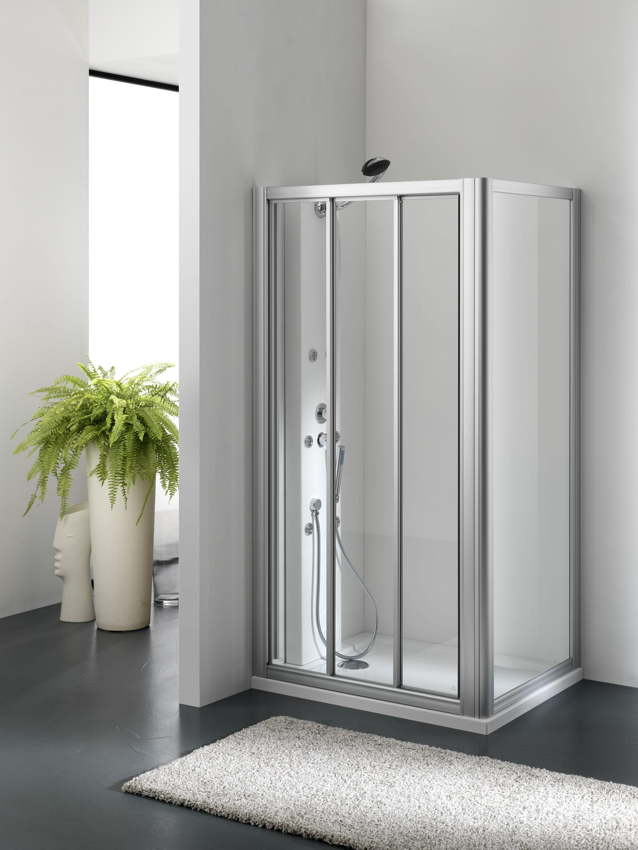 Porte Scorrevoli A 3 Ante.Zenith Door Porta 3 Ante Scorrevoli Finitura Bianco 70 Cm
