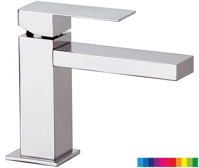SKYLINE AMBIENT monocomando lavabo con dispositivo luminoso senza ...