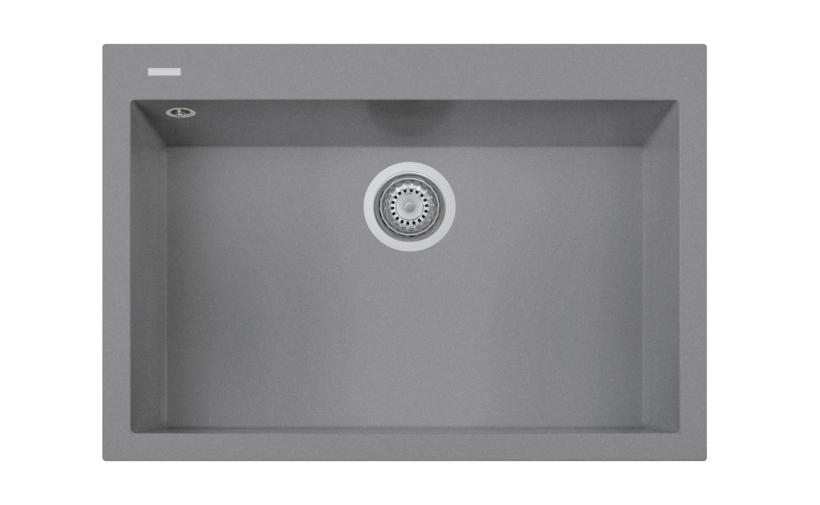ONE 76.10 Lavandino cucina ad una vasca finitura micro ultragranit ...
