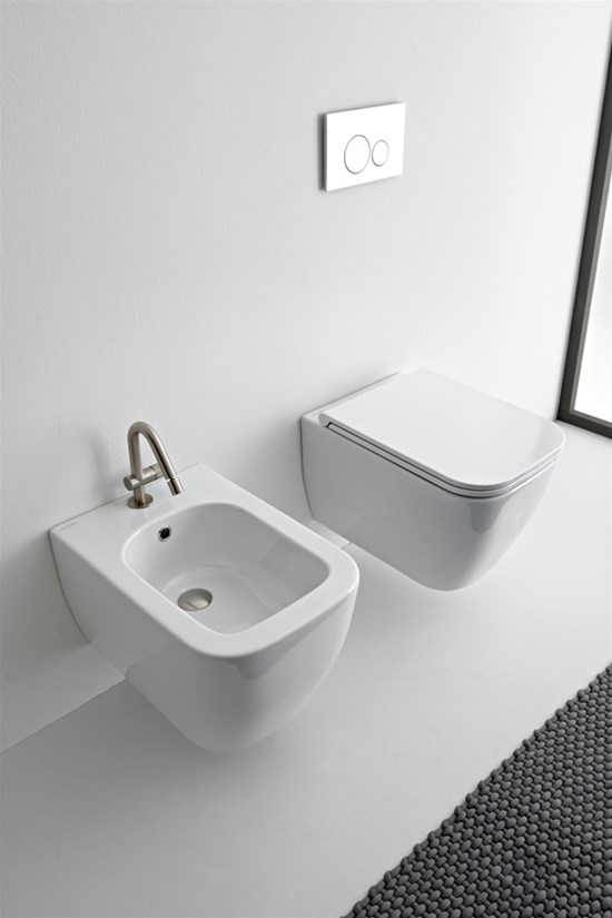 TEOREMA 2.0 CLEAN FLUSH HUNG WC Wc sospeso - Bagno Italiano