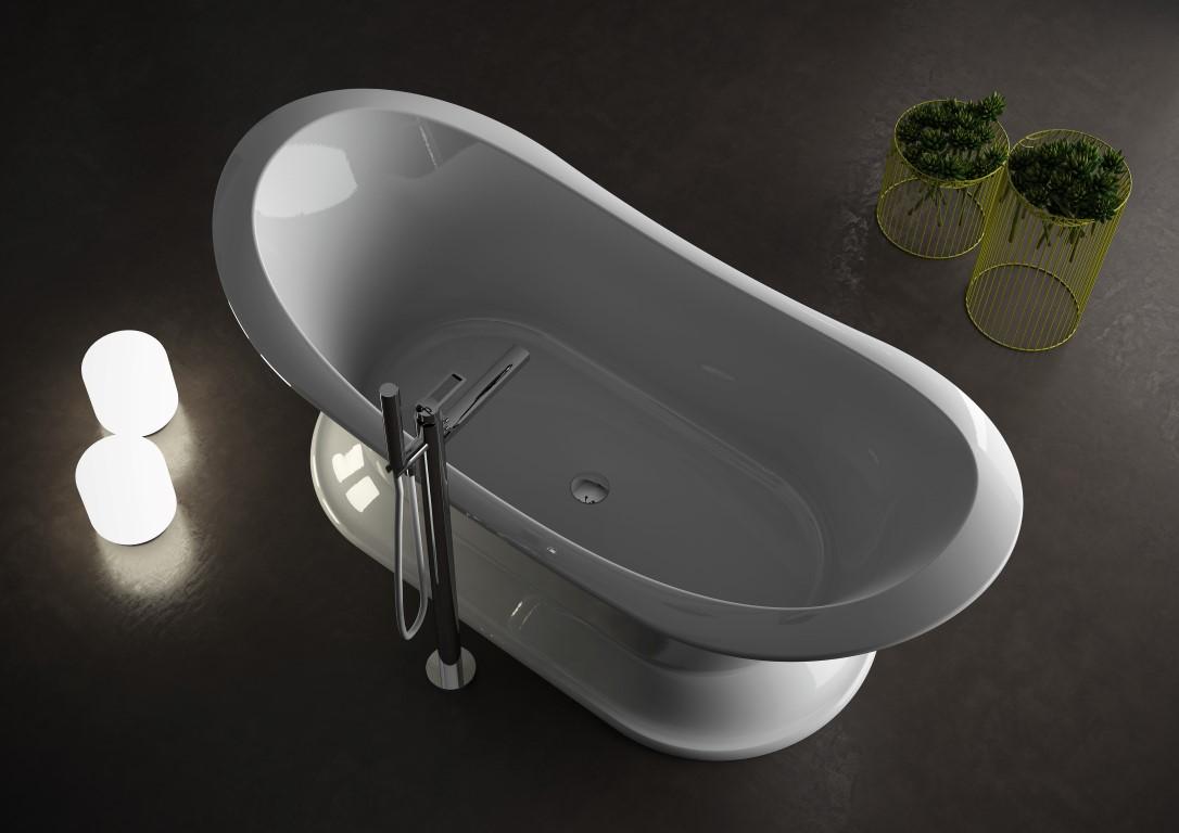 Vasca Da Bagno Freestanding Rettangolare : Vasche piccole dalle dimensioni compatte e svariate misure e forme