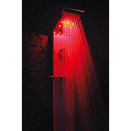 FIVEN CROMOTERAPIA pannello doccia termostatico 140 - Bagno Italiano